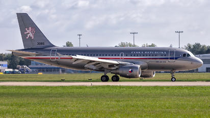 3085 - Czech - Air Force Airbus A319 CJ