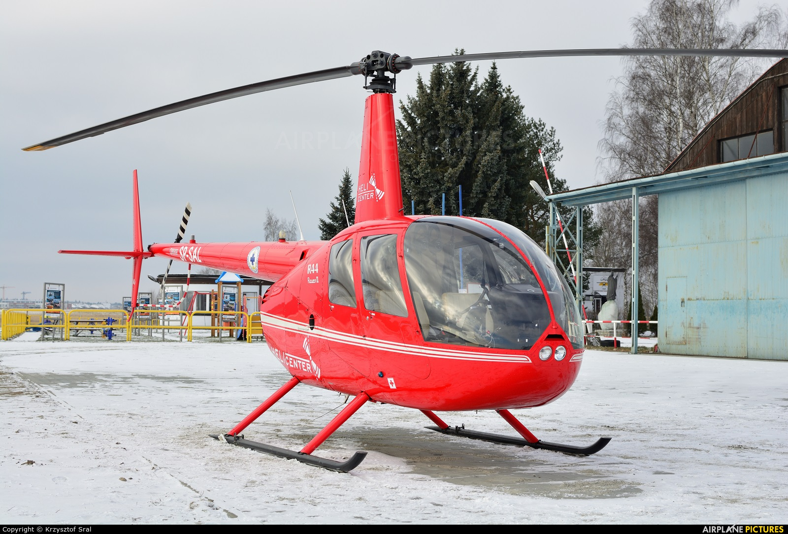 Private SP-SAL aircraft at Nowy Targ