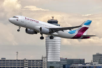 OE-IEU - Eurowings Europe Airbus A320