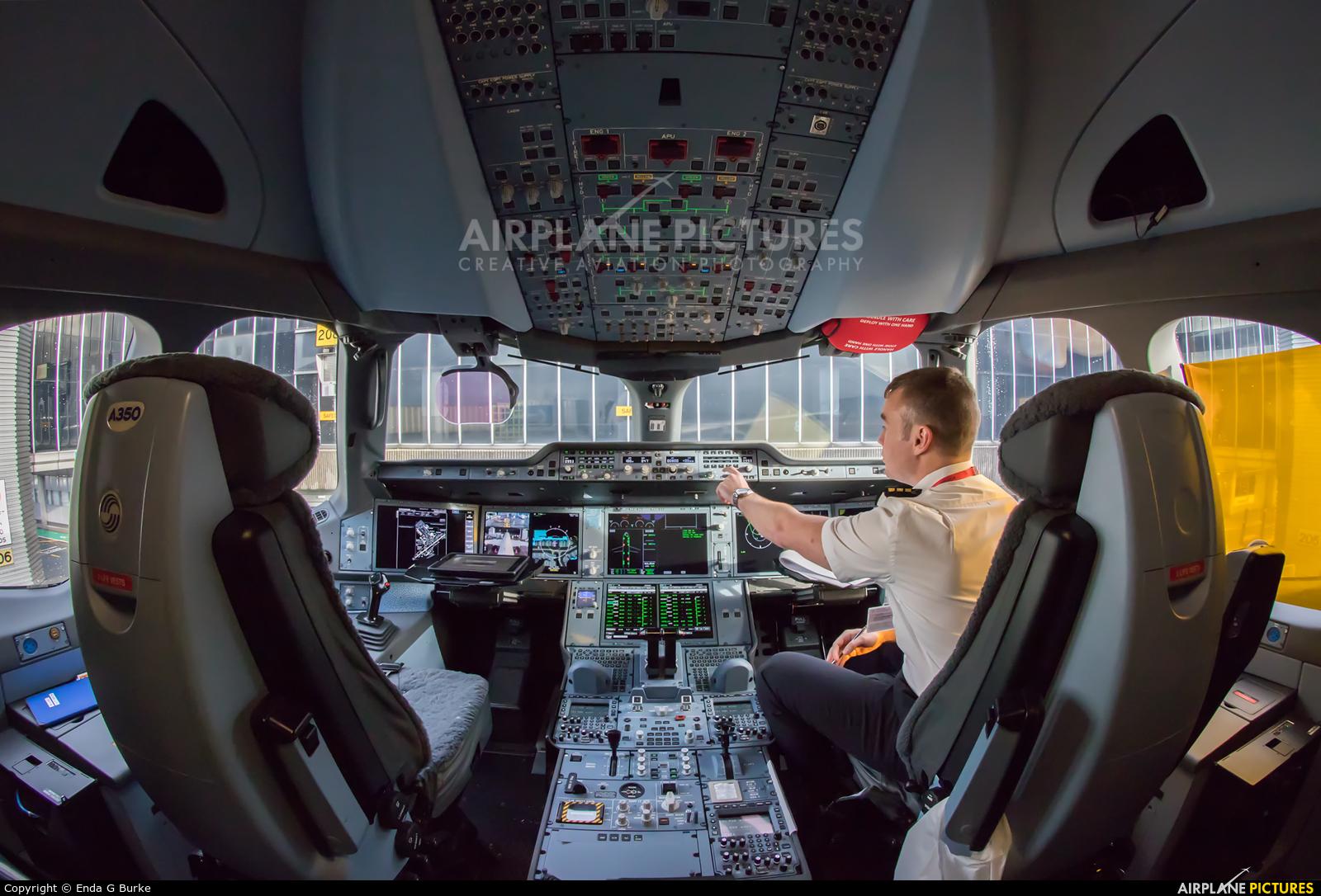 Cathay Pacific B-LXC aircraft at Manchester