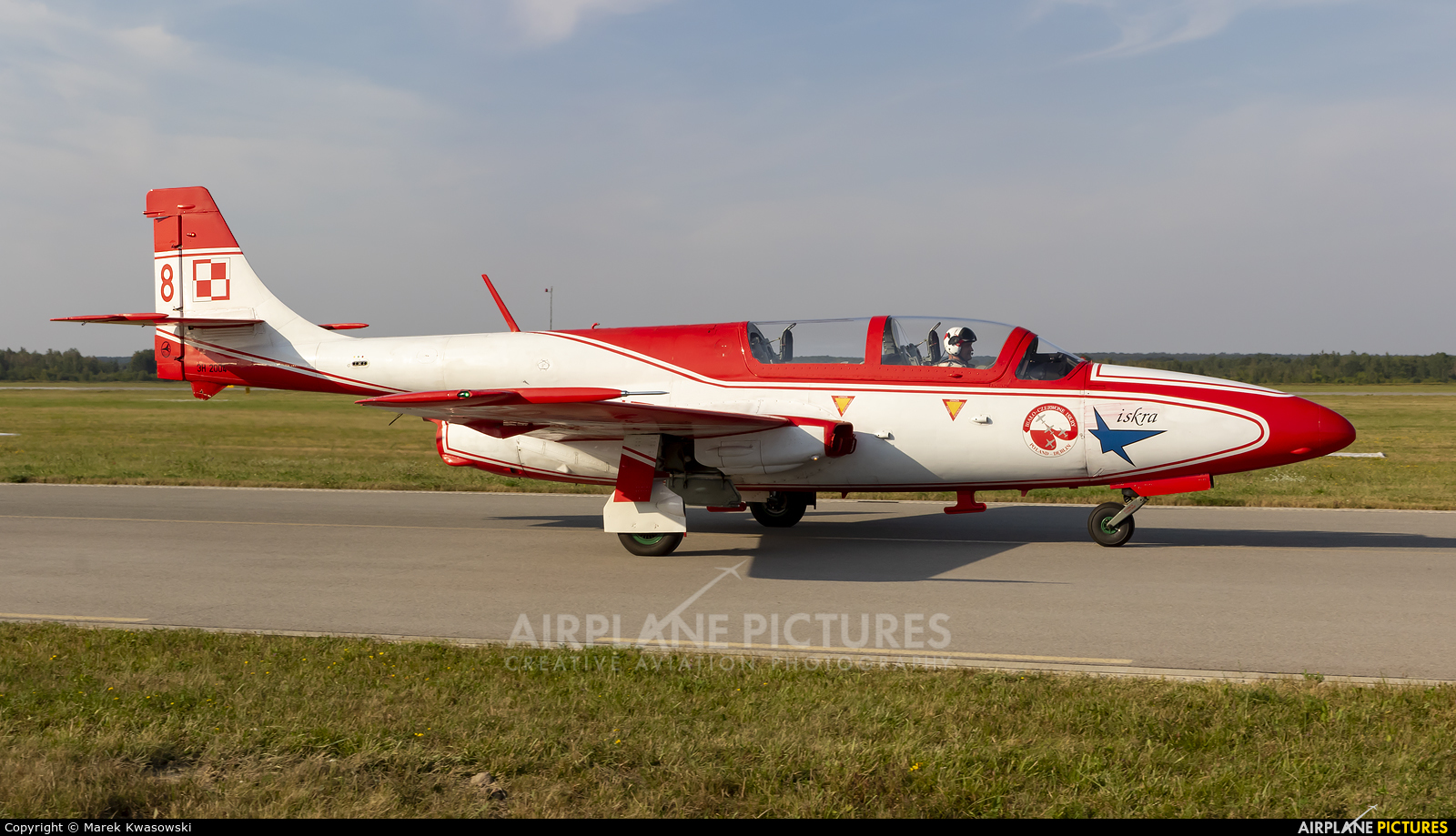 Poland - Air Force: White & Red Iskras 8 aircraft at Dęblin - Museum of Polish Air Force