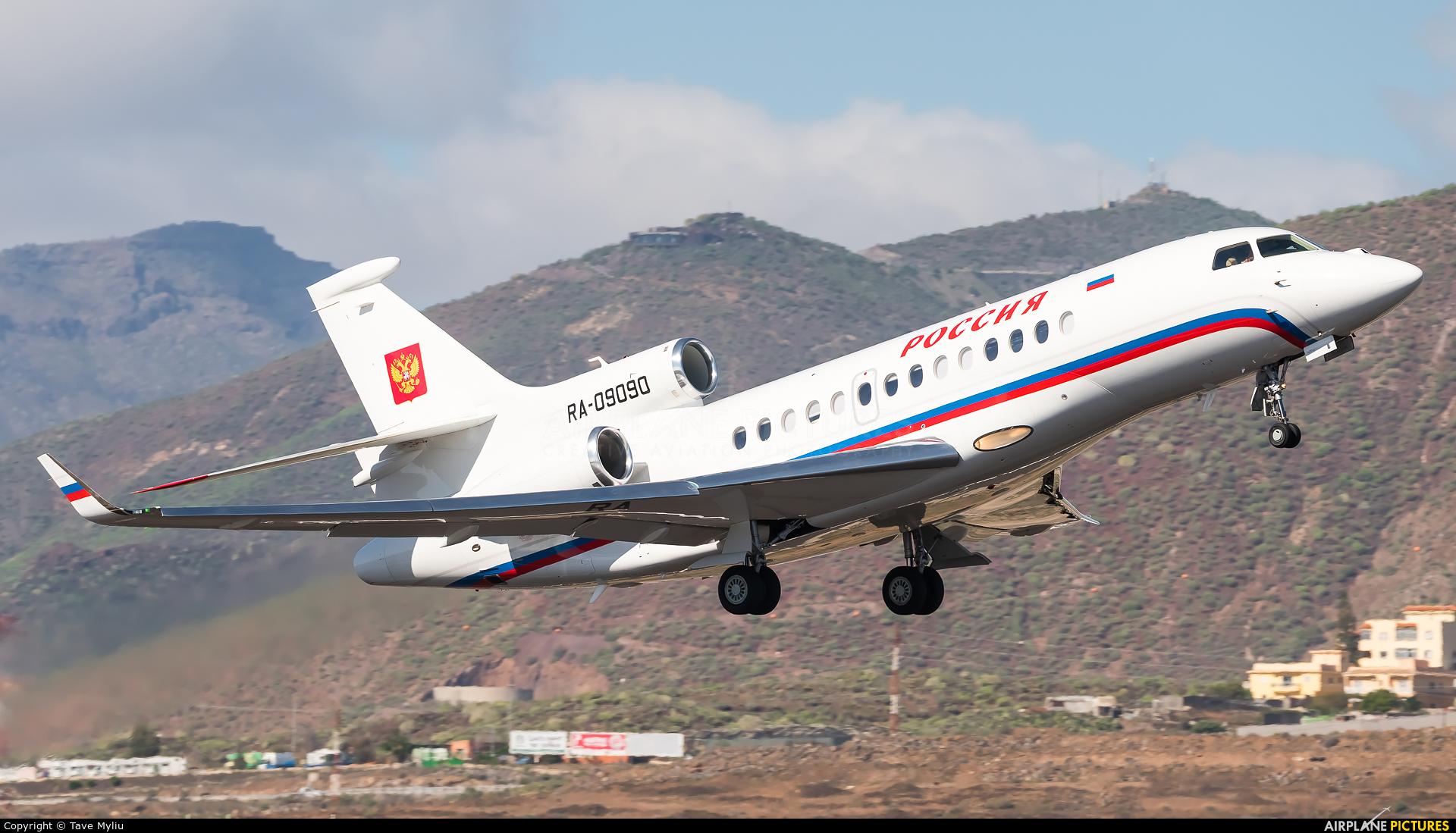 Rossiya RA-09090 aircraft at Tenerife Sur - Reina Sofia