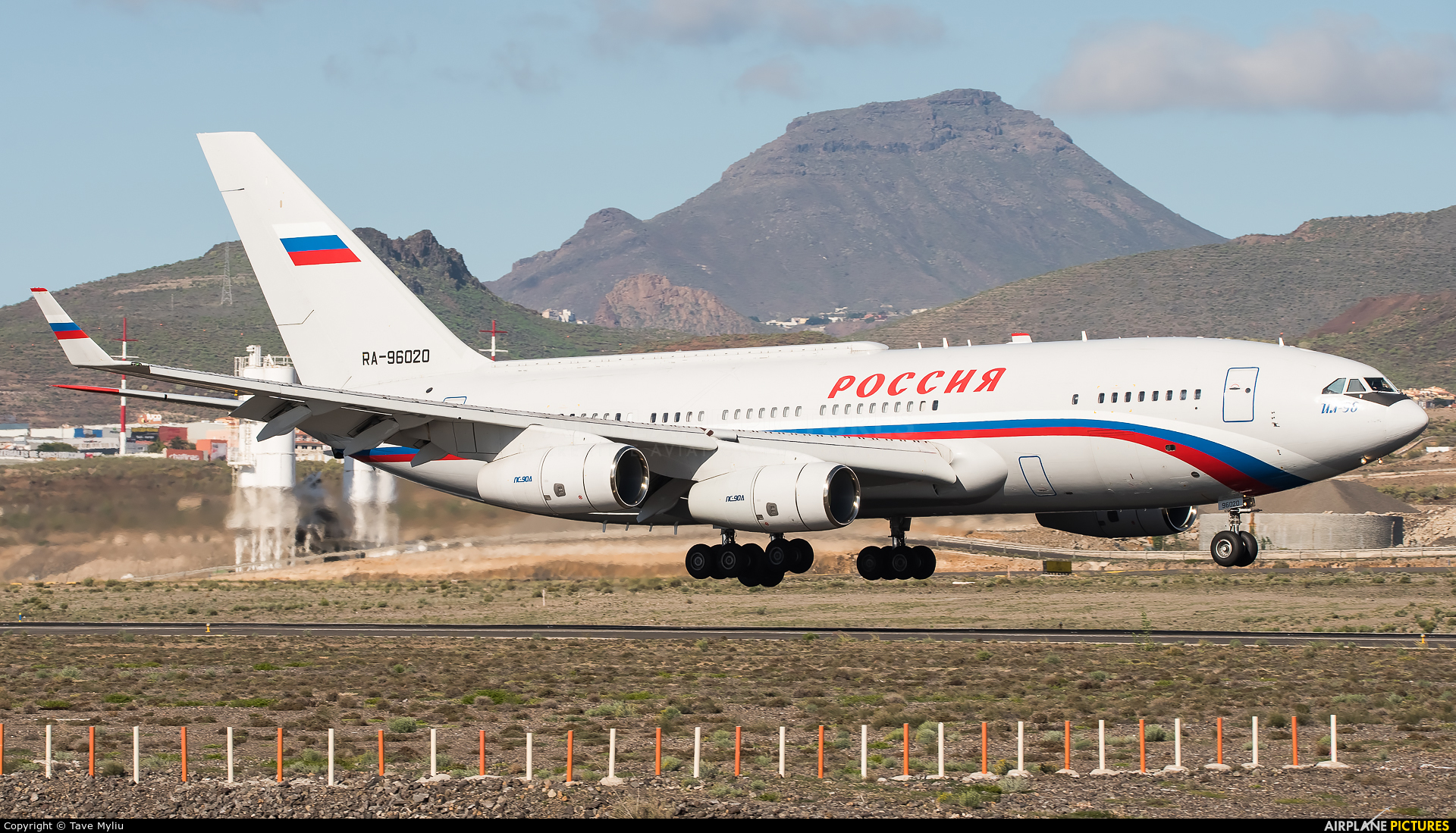 Rossiya RA-96020 aircraft at Tenerife Sur - Reina Sofia
