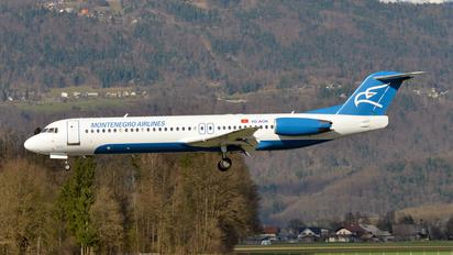 4O-AOK - Montenegro Airlines Fokker 100
