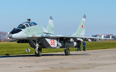 58 - Russia - Air Force Mikoyan-Gurevich MiG-29UB