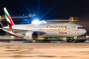 Emirates Sky Cargo 777F at Moscow Domodedovo title=