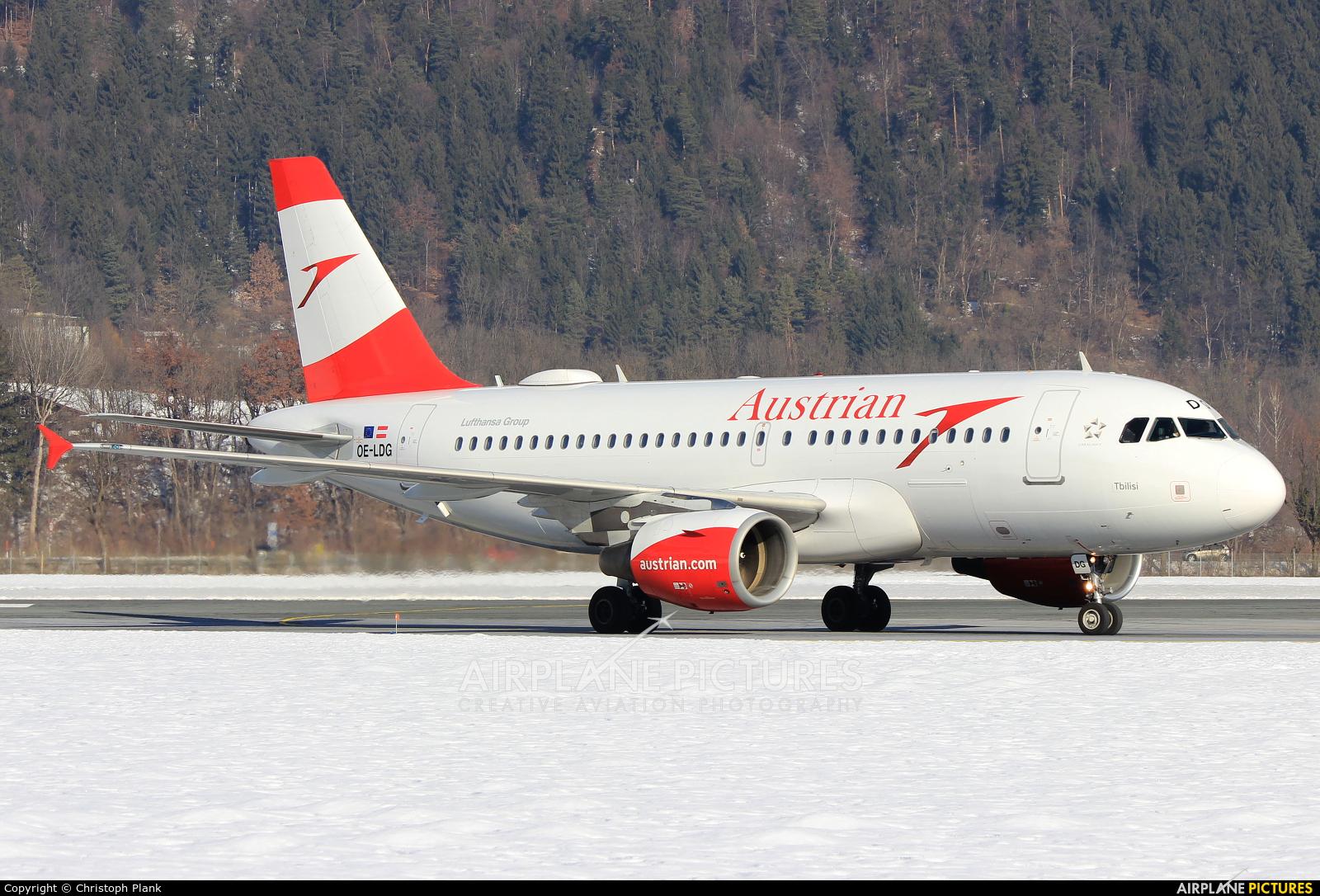 Austrian Airlines/Arrows/Tyrolean OE-LDG aircraft at Innsbruck