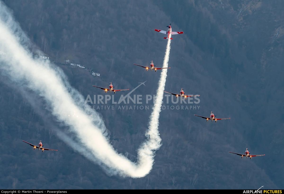 Switzerland - Air Force A-926 aircraft at Locarno