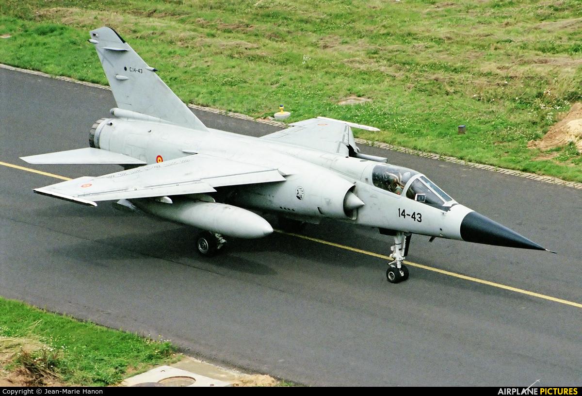 Spain - Air Force C.14-43 aircraft at Florennes