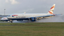 G-VIIU - British Airways Boeing 777-200 aircraft