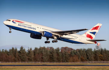 G-BNWB - British Airways Boeing 767-300