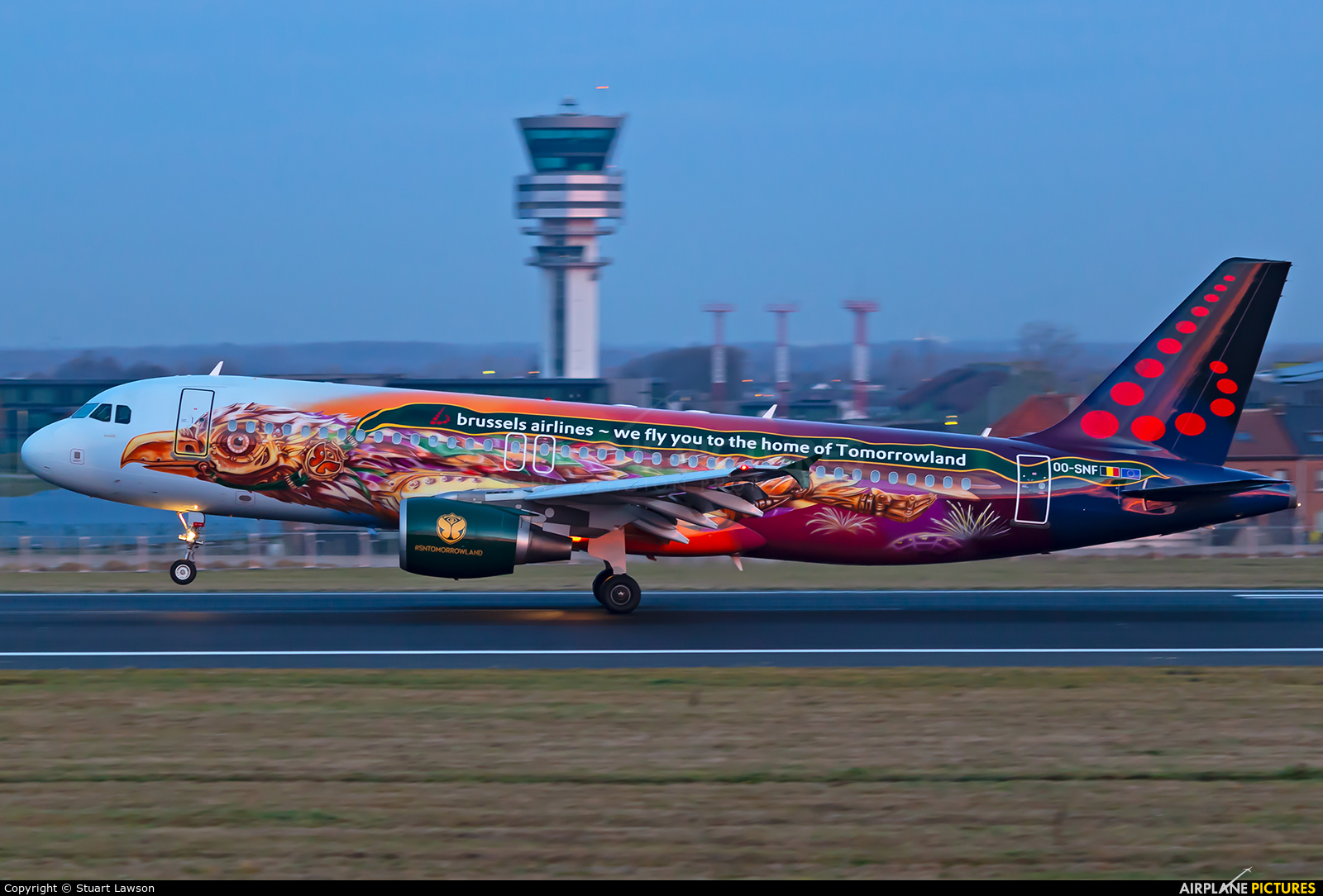 Brussels Airlines OO-SNF aircraft at Brussels - Zaventem