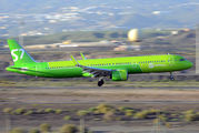 VQ-BDU - S7 Airlines Airbus A321 aircraft