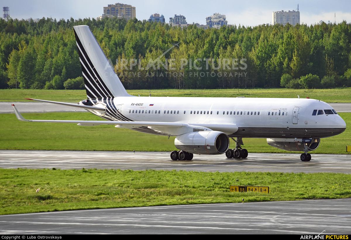 Business Aero RA-64010 aircraft at St. Petersburg - Pulkovo