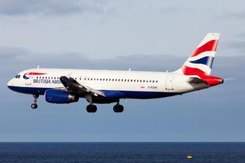G-EUUH - British Airways Airbus A320