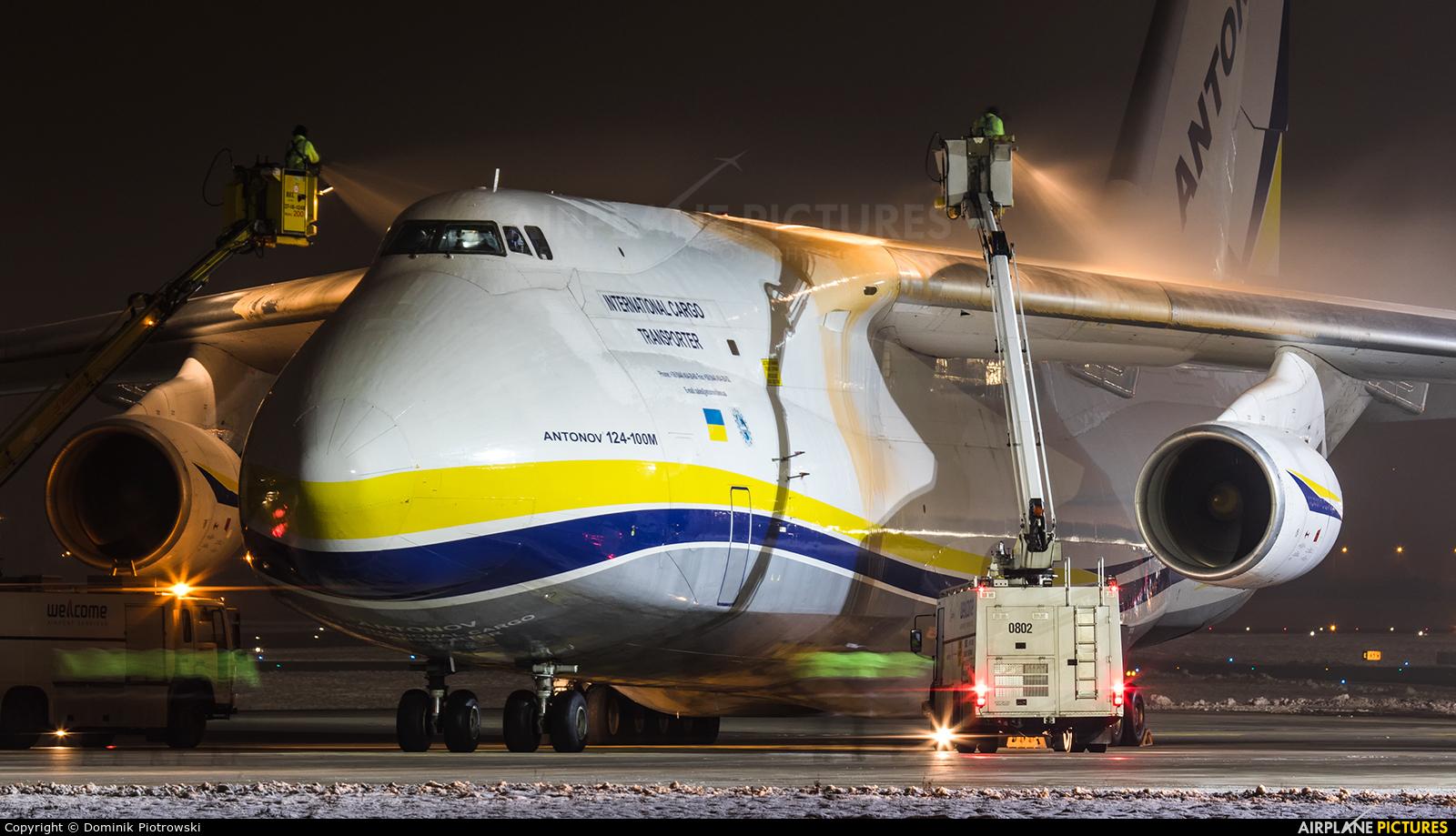 Antonov Airlines /  Design Bureau UR-82027 aircraft at Gdańsk - Lech Wałęsa