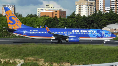 N817SY - Sun Country Airlines Boeing 737-800