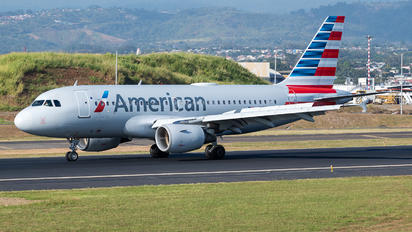 N755ZV - American Airlines Airbus A319