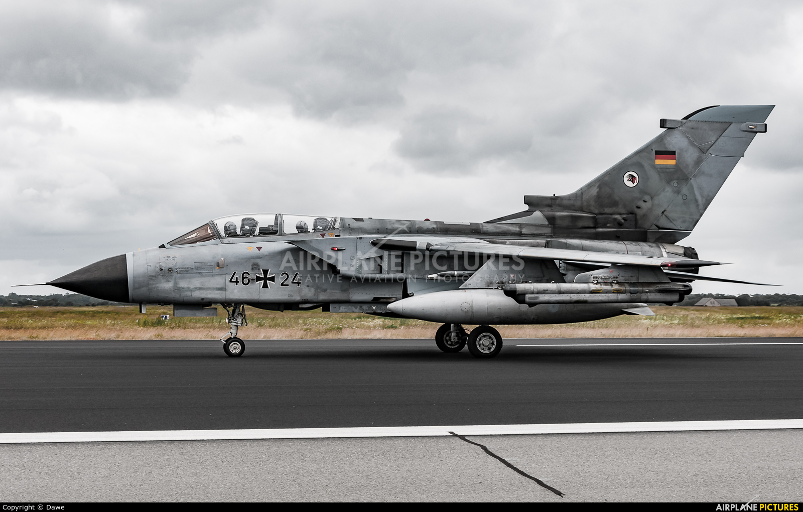 Germany - Air Force 46+24 aircraft at Schleswig-Jagel