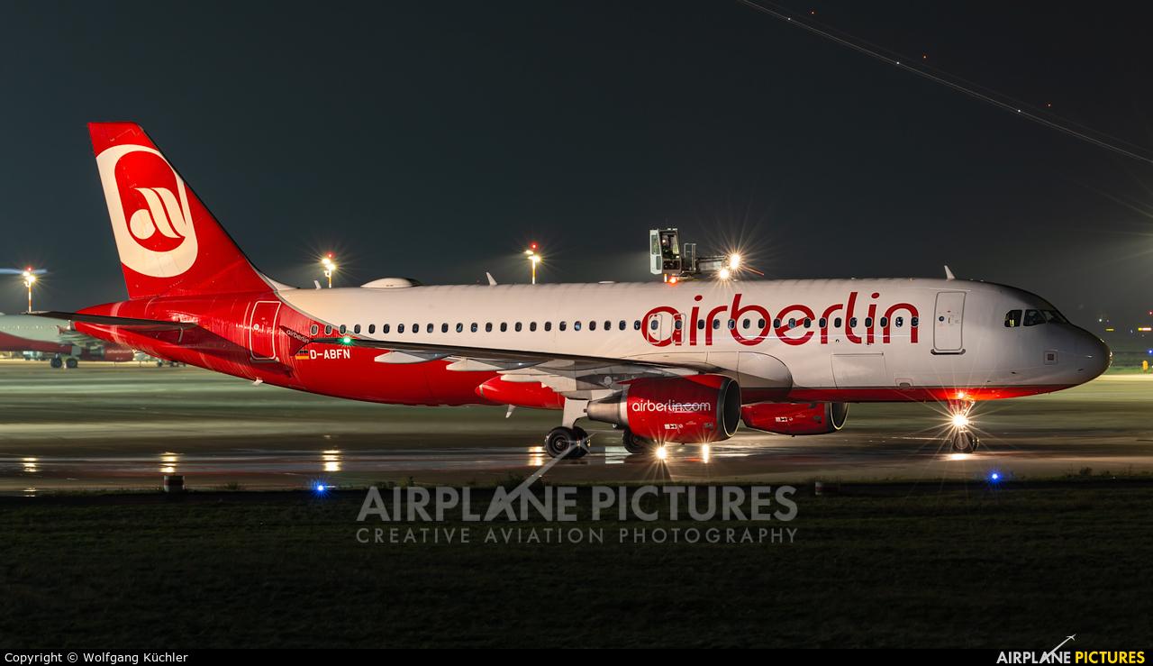 Air Berlin D-ABFN aircraft at Düsseldorf