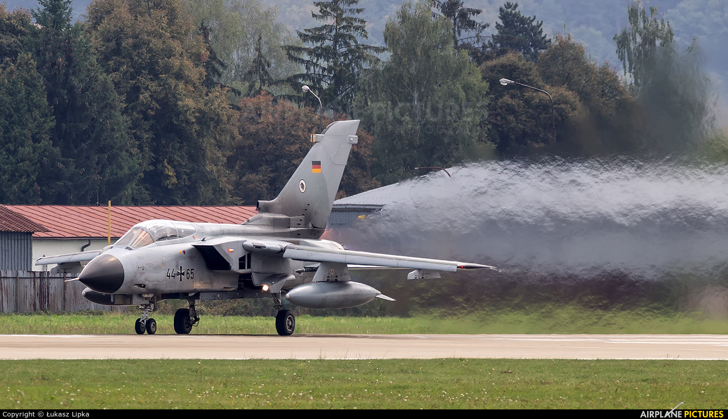 Germany - Air Force 44-65 aircraft at Sliač