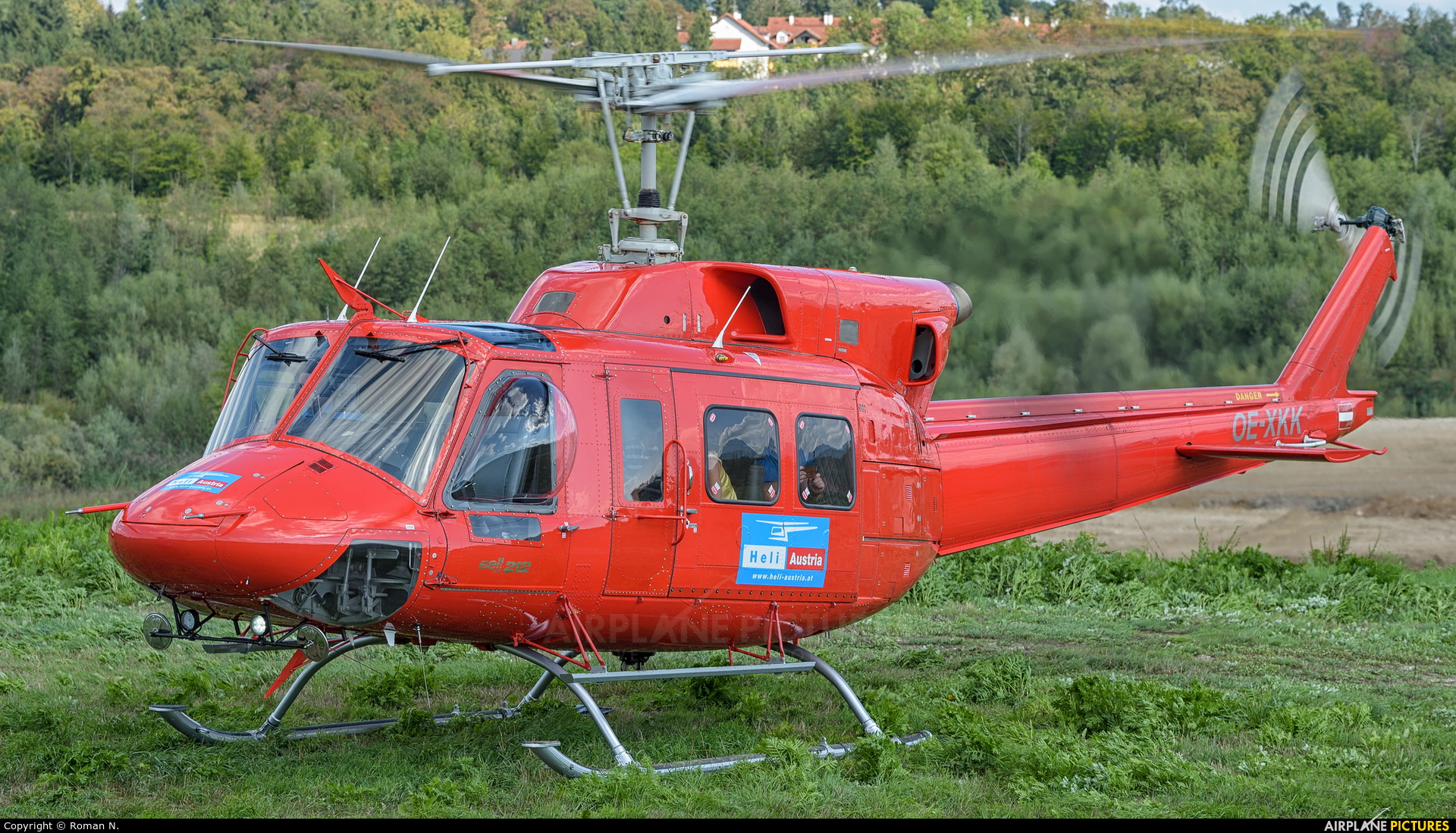 Heli Austria OE-XKK aircraft at Off Airport - Austria