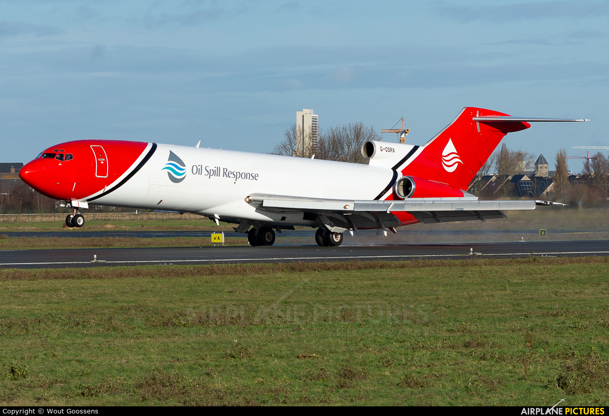 Oil Spill Response G-ORSA aircraft at Ostend / Bruges