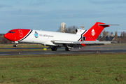 Rare visit of Oil Spill Response Boeing 727 to Ostend title=
