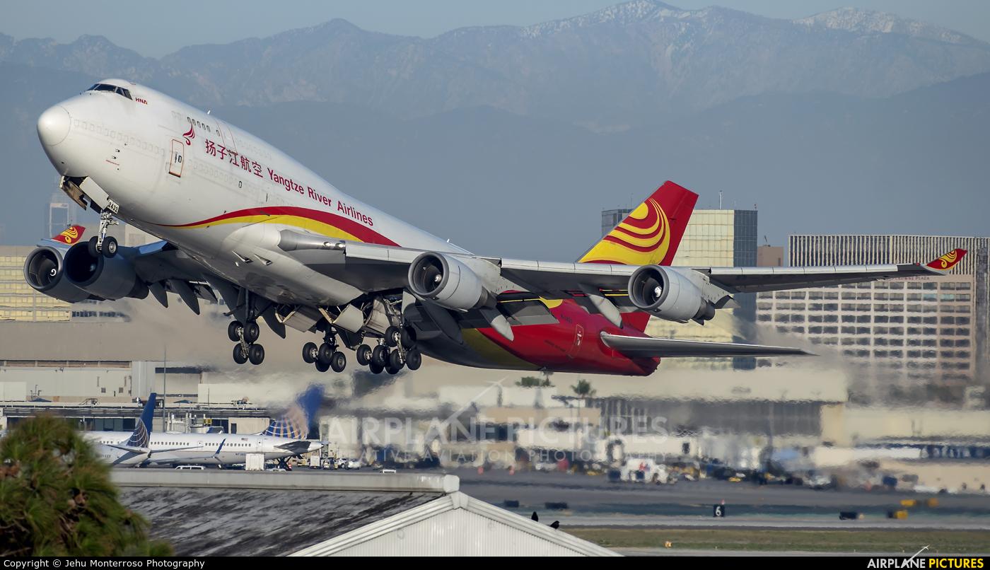 Yangtze River Airlines B-2432 aircraft at Los Angeles Intl