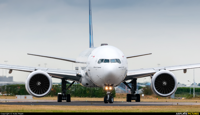 Garuda Indonesia PK-GIK aircraft at Amsterdam - Schiphol