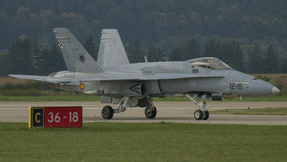 C.15-57 - Spain - Air Force McDonnell Douglas EF-18A Hornet