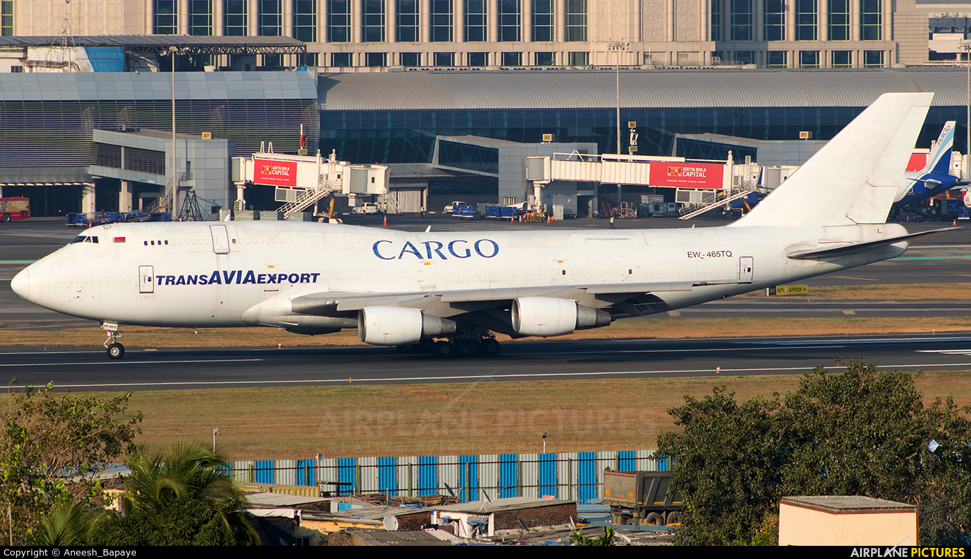 TransAviaExport EW-465TQ aircraft at Mumbai - Chhatrapati Shivaji Intl