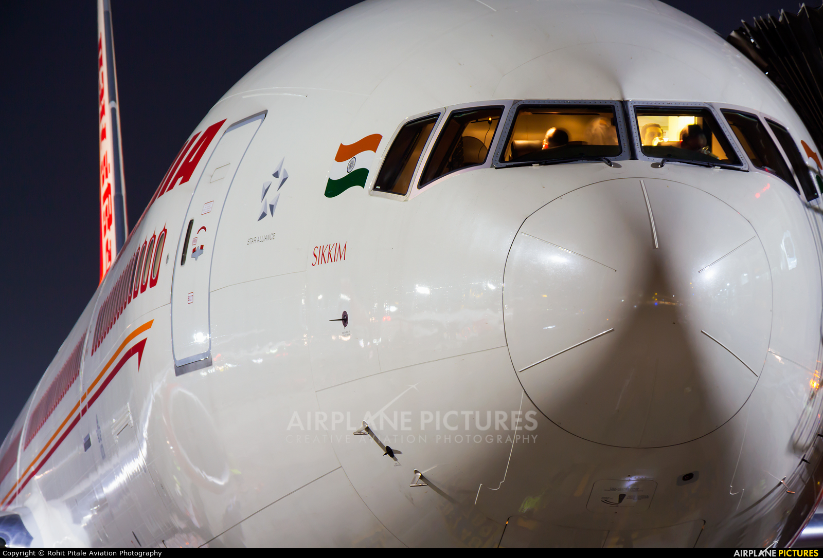 Air India VT-ALX aircraft at Mumbai - Chhatrapati Shivaji Intl