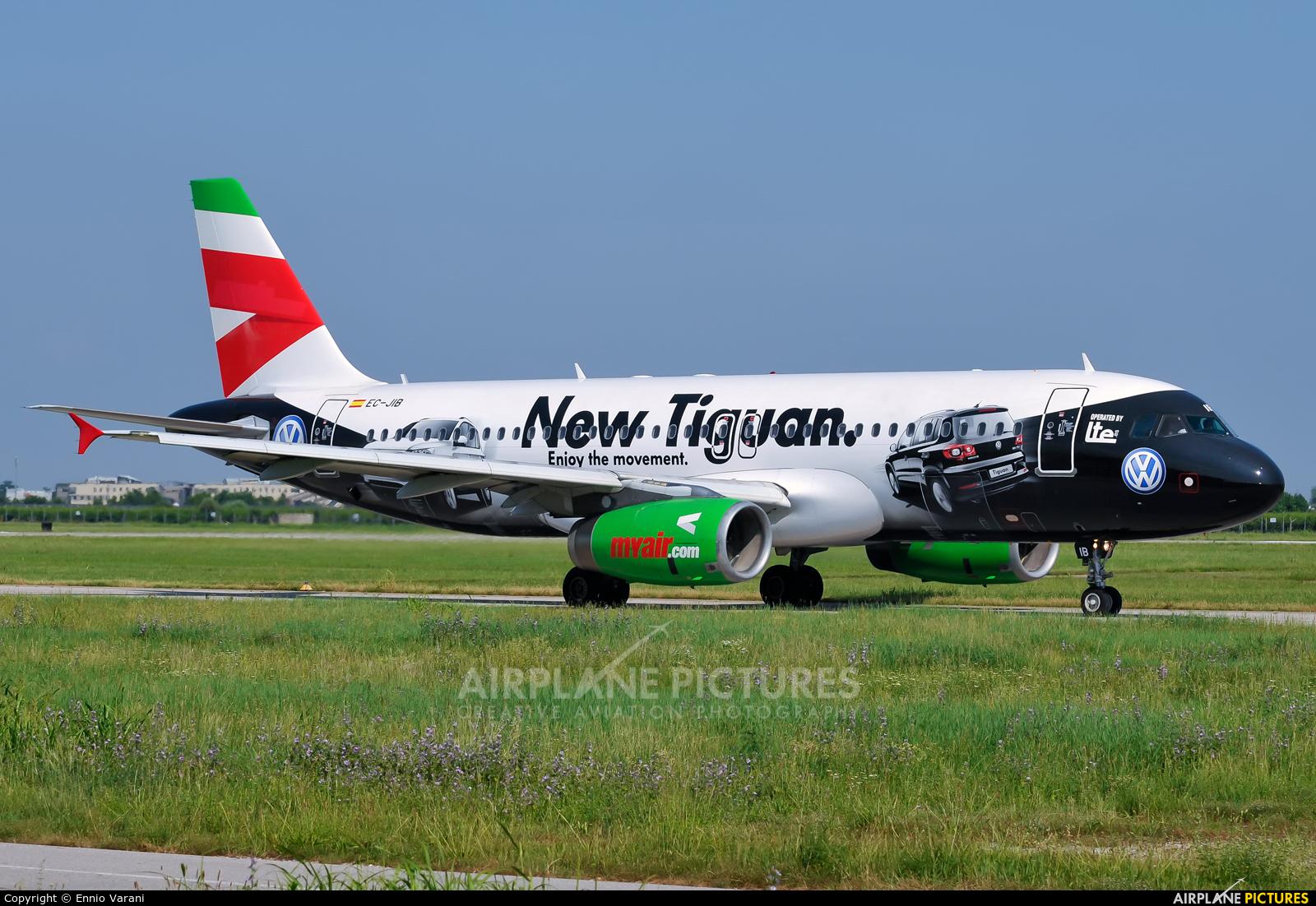Myair EC-JIB aircraft at Verona - Villafranca