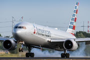 N348AN - American Airlines Boeing 767-300ER aircraft