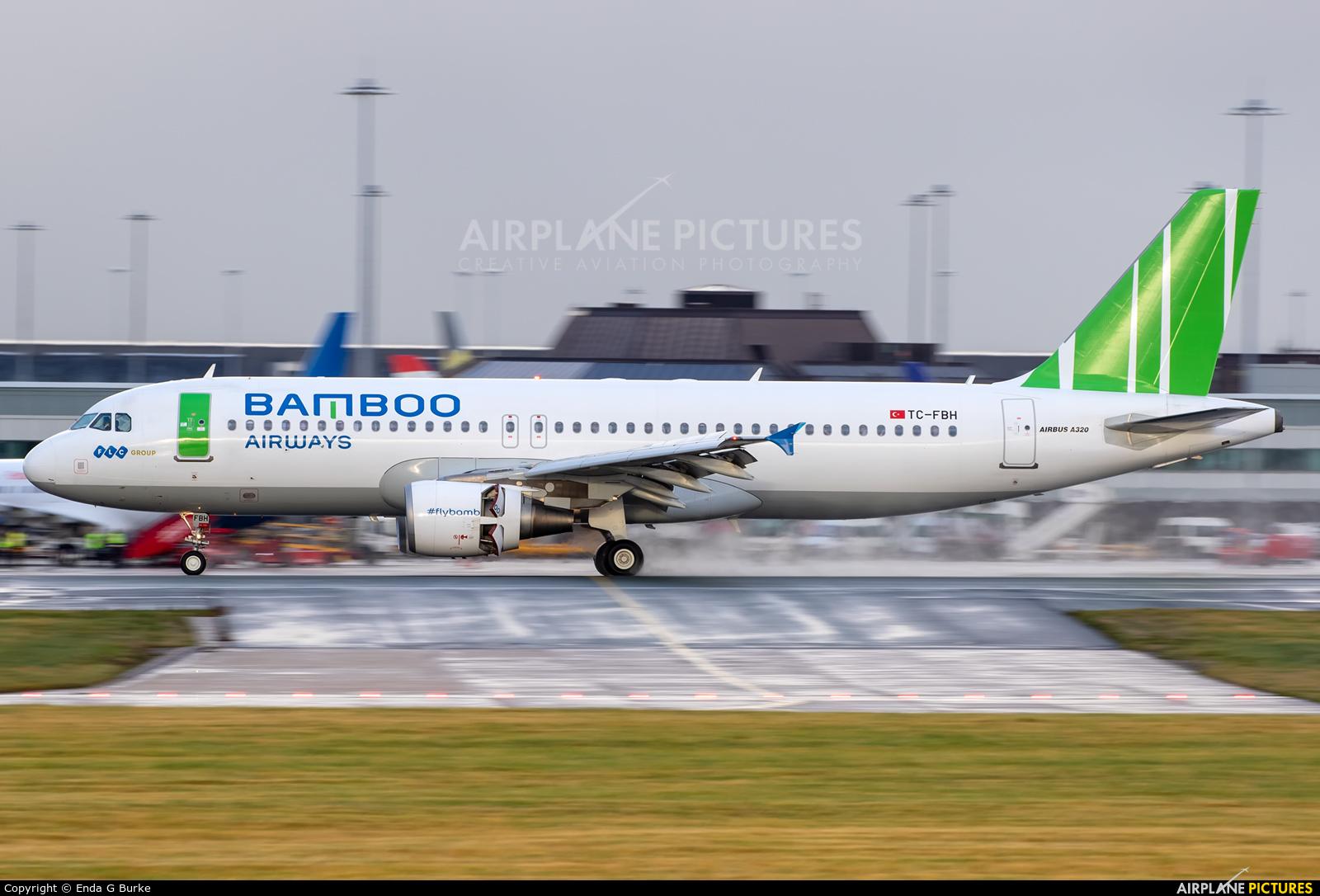 Bamboo Airways TC-FBH aircraft at Manchester