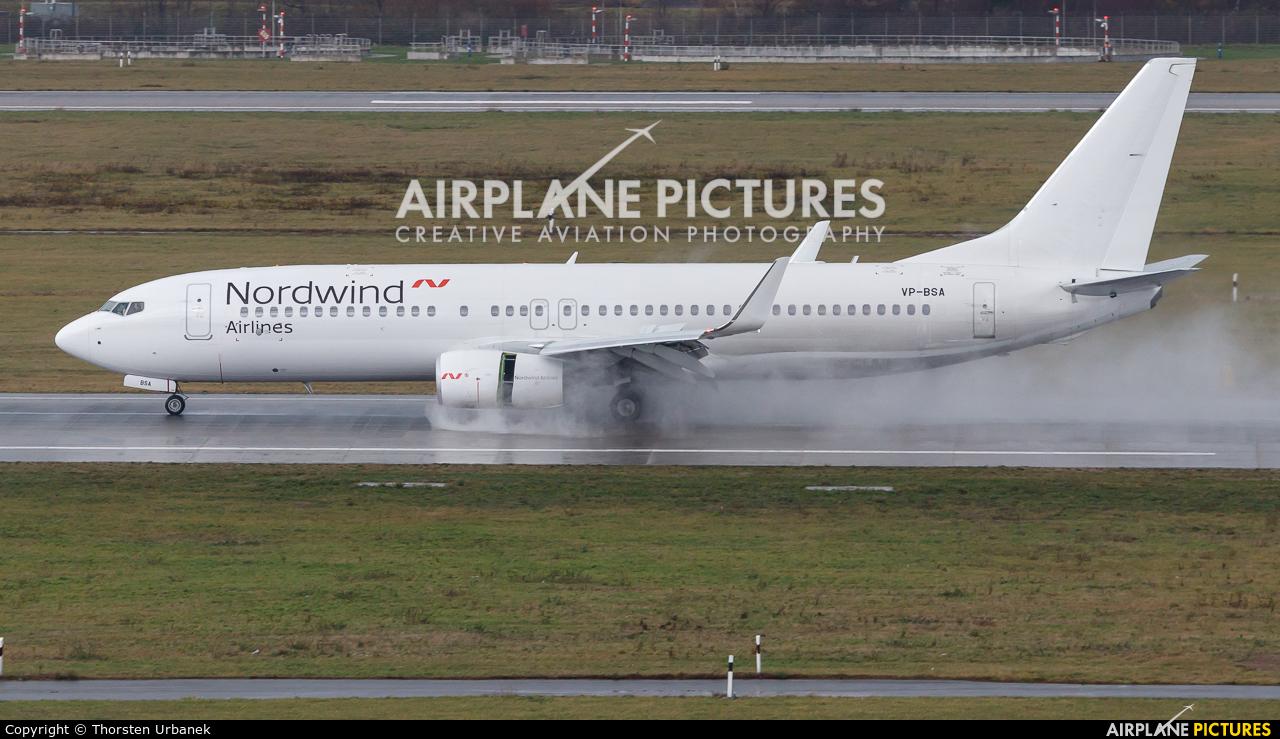 Nordwind Airlines VP-BSA aircraft at Düsseldorf