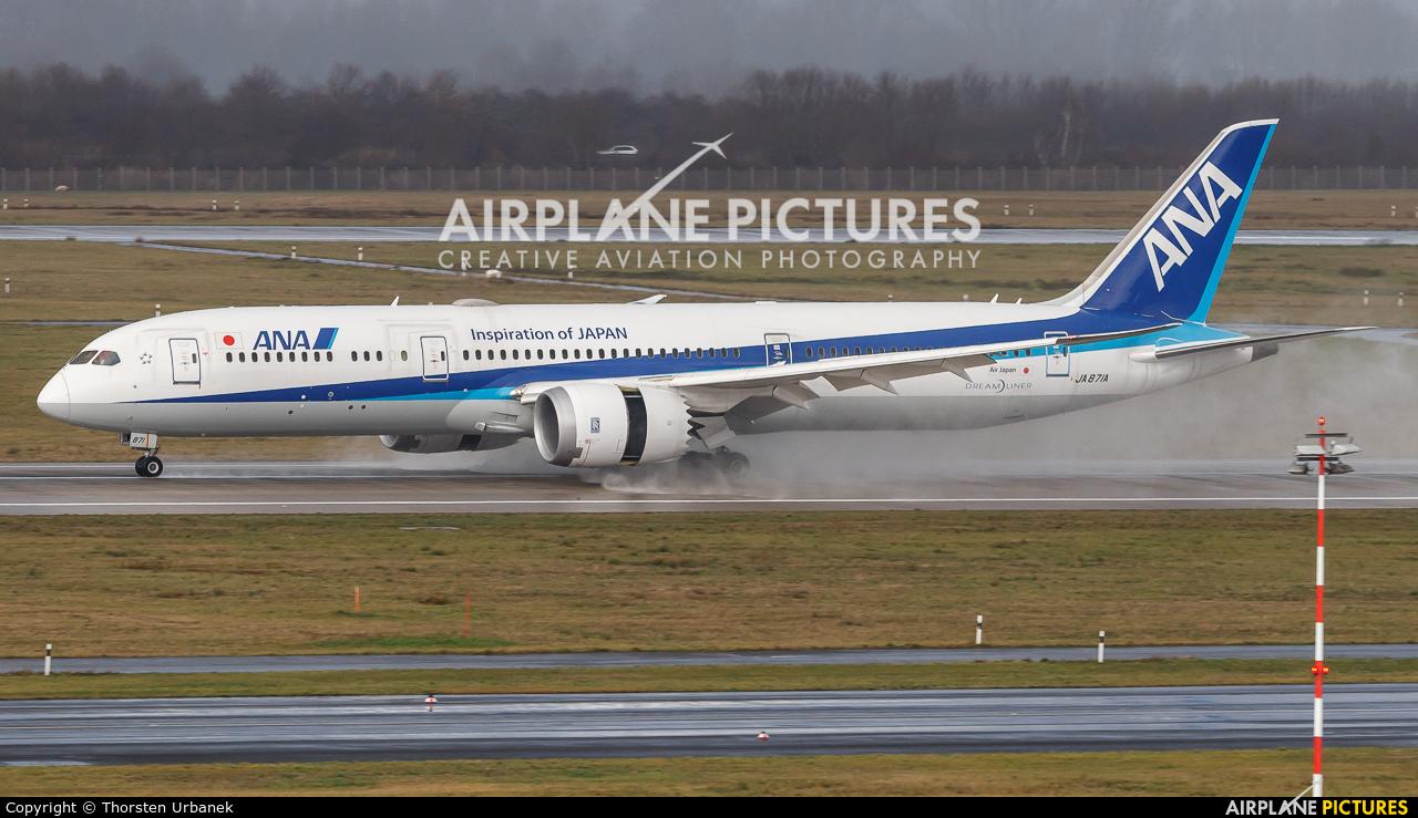 ANA - All Nippon Airways JA871A aircraft at Düsseldorf