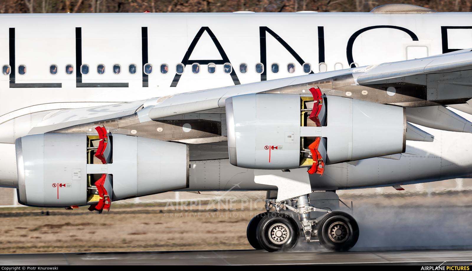 Lufthansa D-AIFF aircraft at Frankfurt