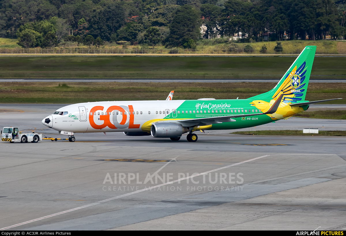 GOL Transportes Aéreos  PR-GUK aircraft at São Paulo - Guarulhos
