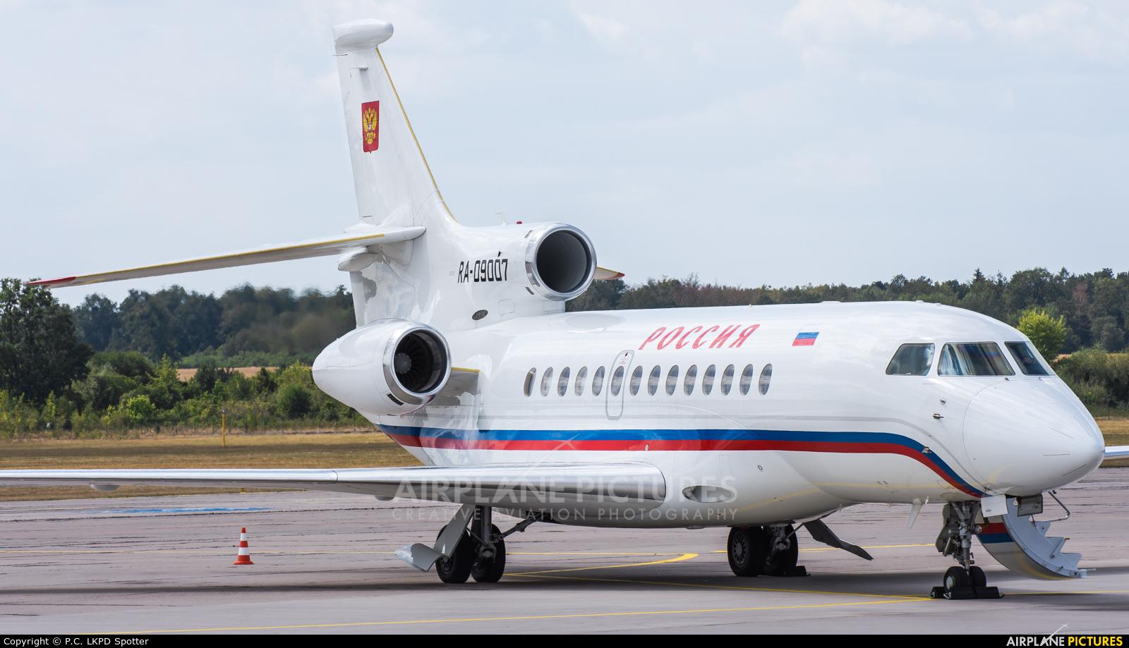 Rossiya RA-09007 aircraft at Pardubice