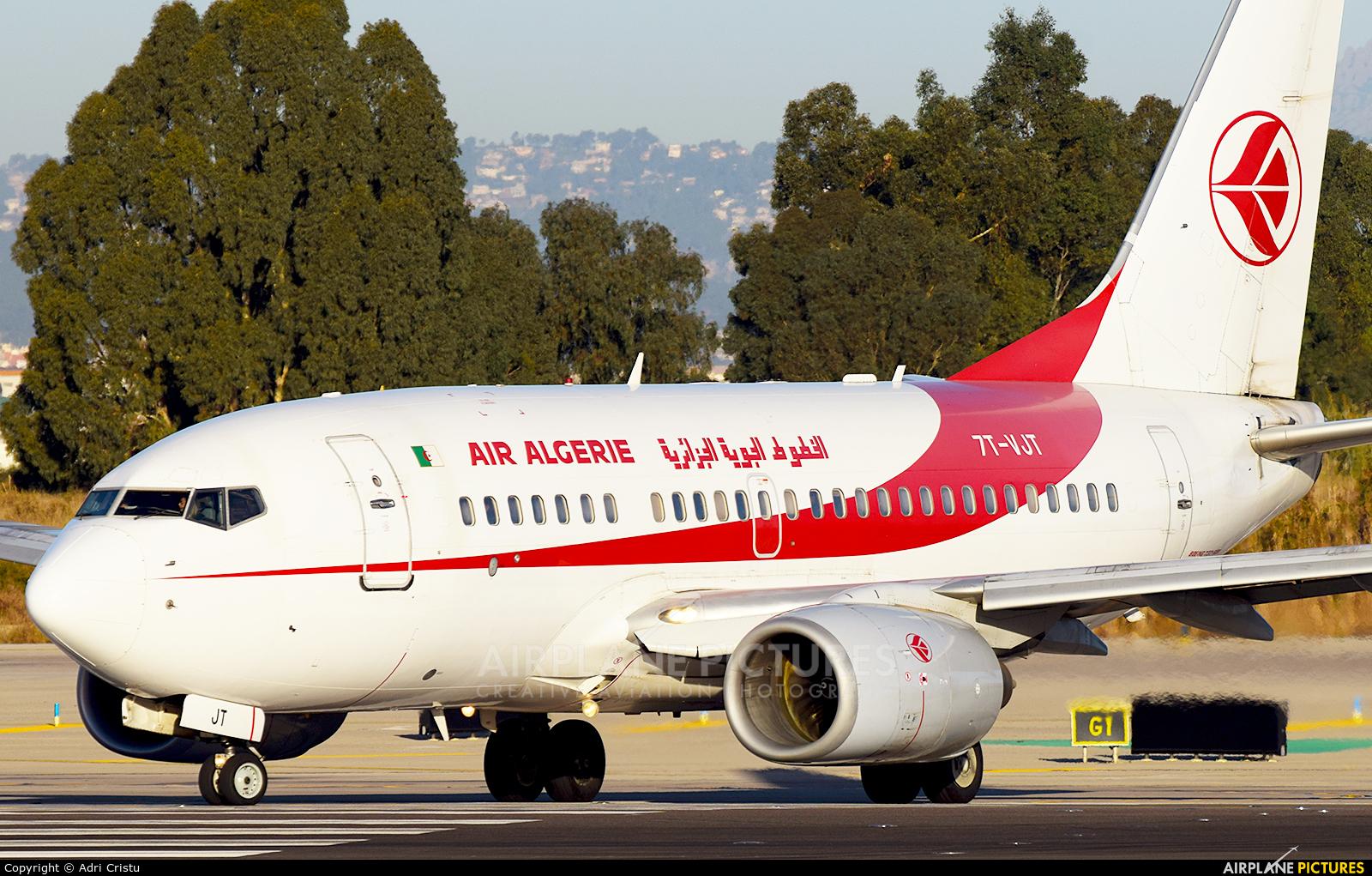 Air Algerie 7T-VJT aircraft at Barcelona - El Prat