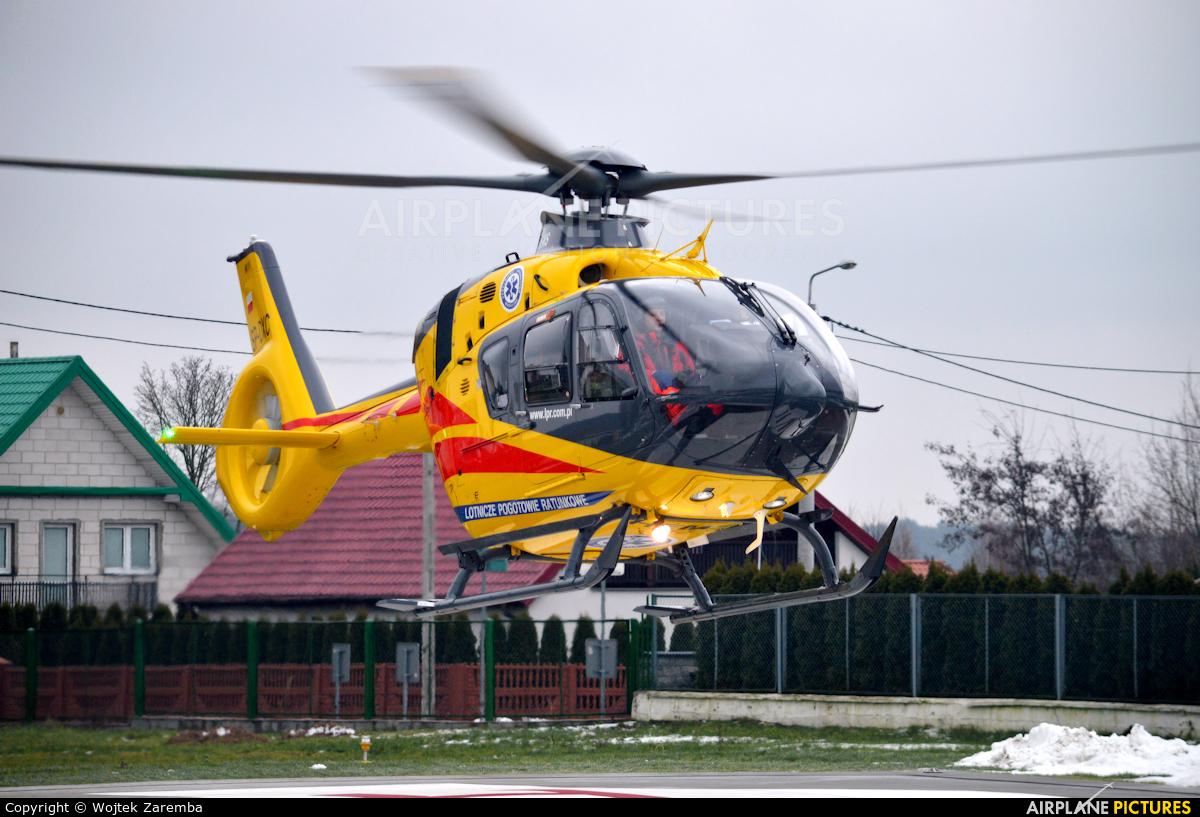 Polish Medical Air Rescue - Lotnicze Pogotowie Ratunkowe SP-DXC aircraft at Siemiatycze Hospital