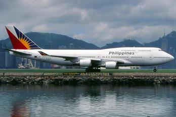 N752PR - Philippines Airlines Boeing 747-400