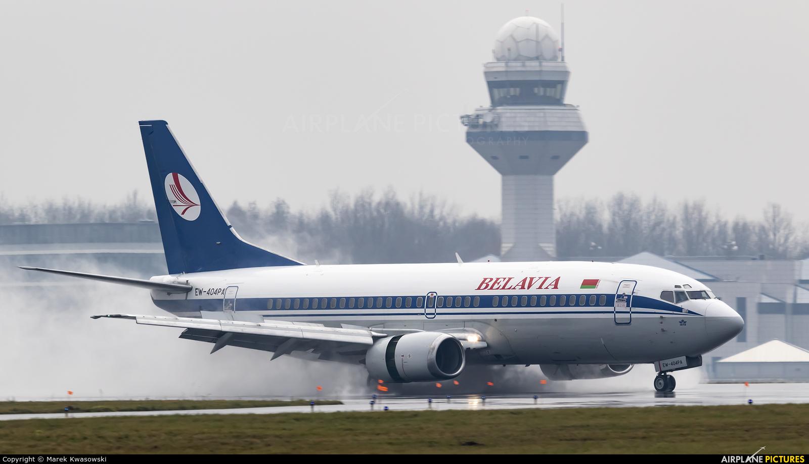 Belavia EW-404PA aircraft at Warsaw - Frederic Chopin