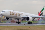 A6-EQN - Emirates Airlines Boeing 777-300ER aircraft