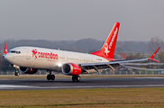 TC-MKS - Corendon Airlines Boeing 737-8 MAX aircraft