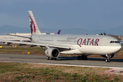 A7-AEE - Qatar Airways Airbus A330-300 aircraft