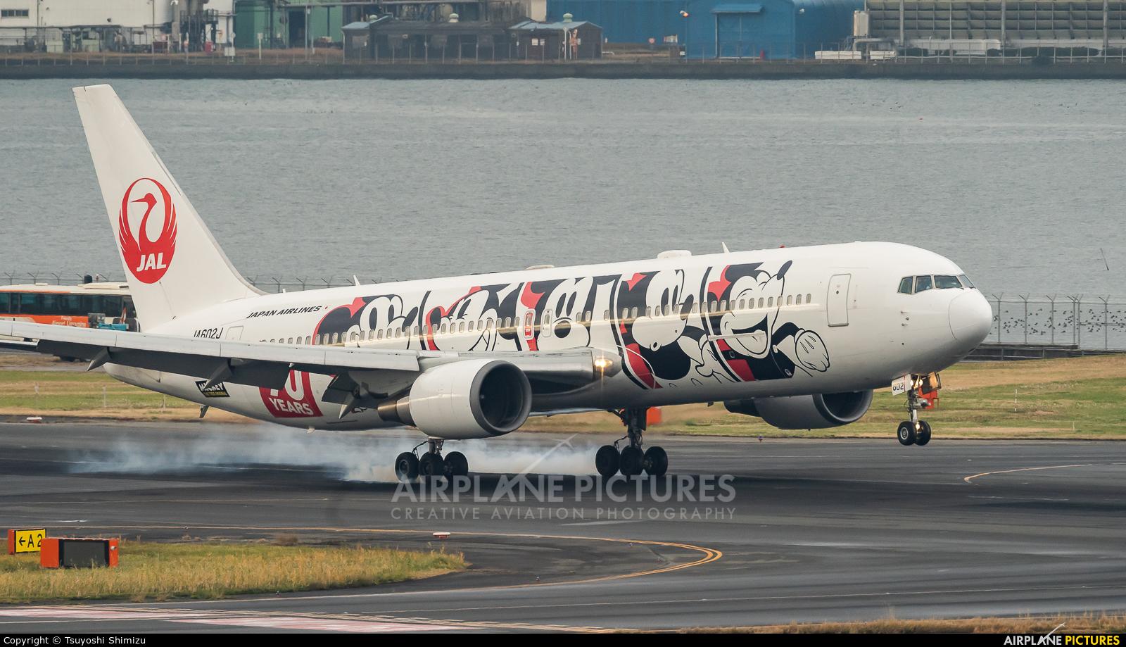 JAL - Japan Airlines JA602J aircraft at Tokyo - Haneda Intl
