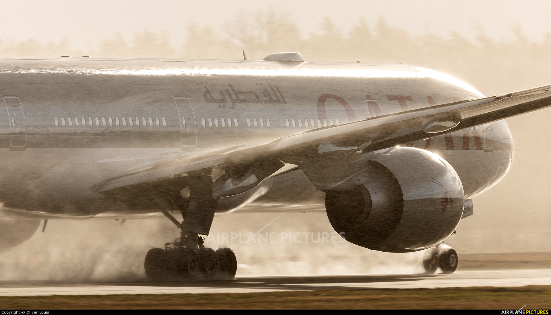 Qatar Airways A7-BEN aircraft at Frankfurt